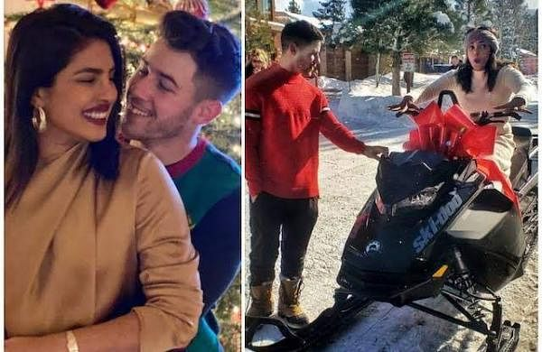 See pics: Priyanka Chopra gets a 'batmobile' as Christmas gift from Nick Jonas