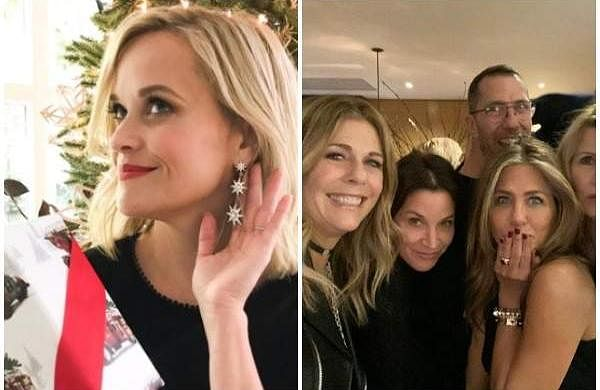 From Reese Witherspoon to Jen Aniston, here's how our favourite celebs celebrated Christmas (Courtesy: Instagram)