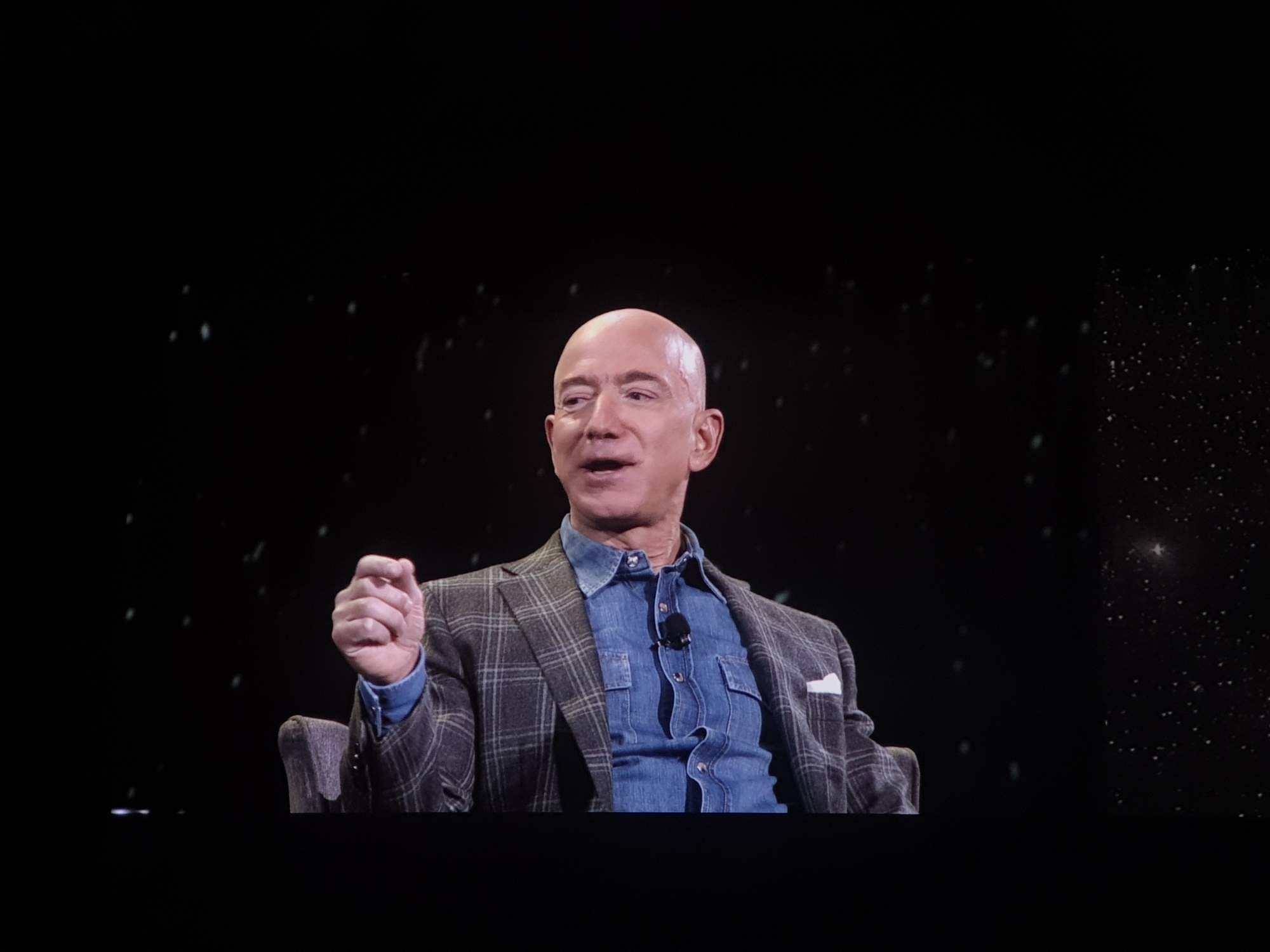 Jeff Bezos (Photos: IANS)