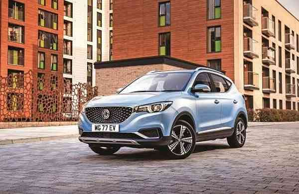Morris Garages India's all-electric SUV MG ZS EV