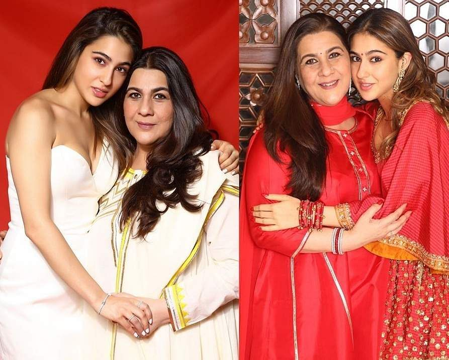 Sara Ali Khan and for her mother Amrita Singh (Photo: IANS)