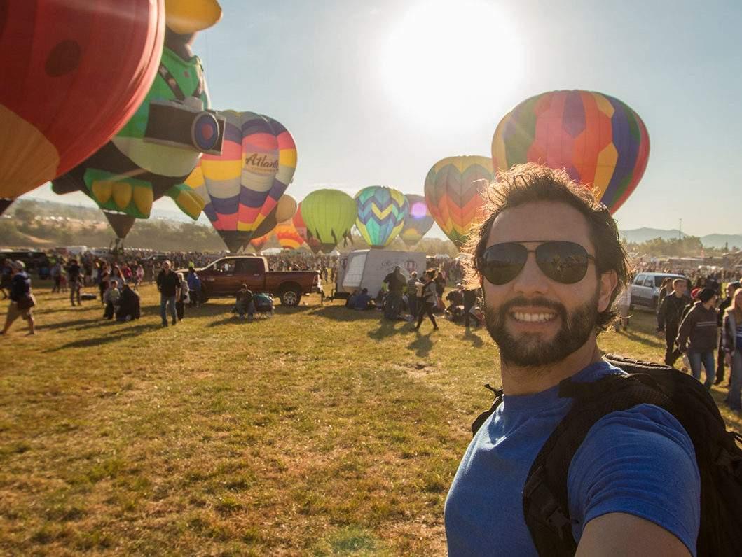 Travel vlogger Alex Chacon
