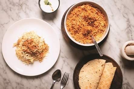 Tikka Kebab Biryani