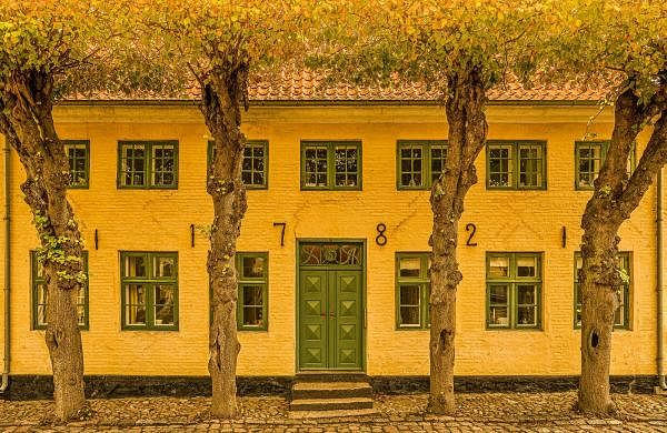 'The Mathematician's House, Denmark'. Signed limited edition prints on display at POV Gallery, Chennai. Camera: Sony A7RIII. Lens: SONY GM. 16-35mm. Settings: 1/50s.