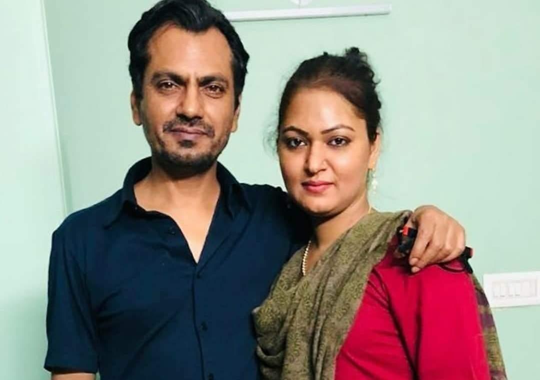 Nawazuddin Siddiqui and sister Syama Tamshi Siddiqui (Photo: IANS)
