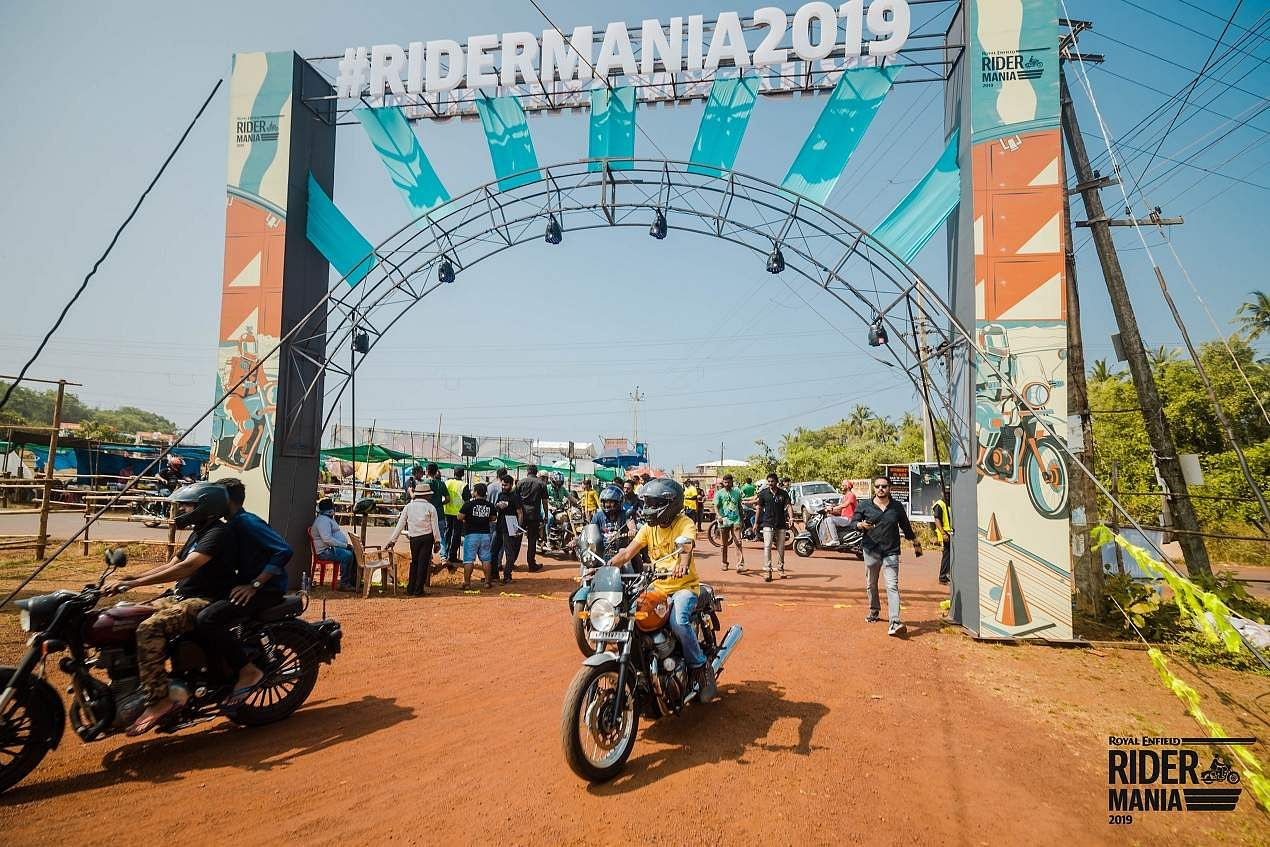 Bikes, brotherhood and bonhomie over Bullets! Glimpses from the Royal Enfield Rider Mania 2019 biker festival.
