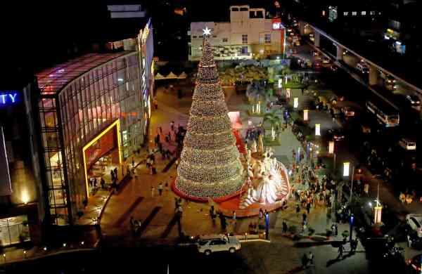 The Christmas Tree at Phoenix Marketcity