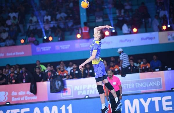 Andrej Patuc in the Pro Volleyball League 2019