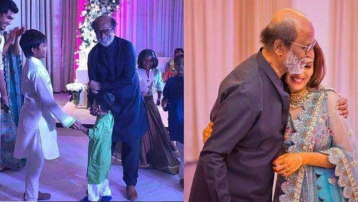 Rajinikanth takes over the dance floor at daughter Soundarya's sangeet, video goes viral