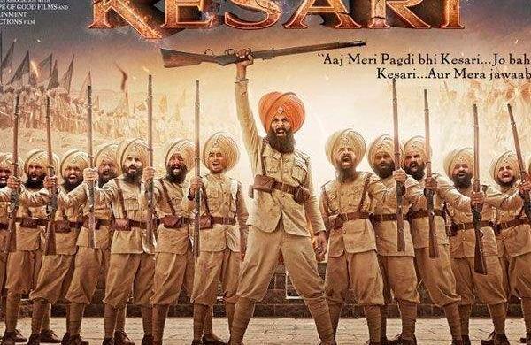 Karan Johar reveals the latest poster of AkshayKumar starrerKesari, says its 'the bravest battle e