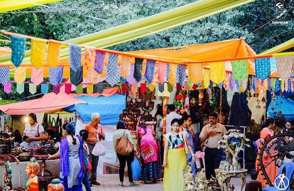 Ten days. 90 stalls. One gigantic santhe! Here's another bazaar to get your shopping binge on for th