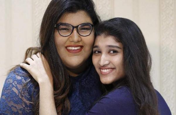 Anandita and Zaina