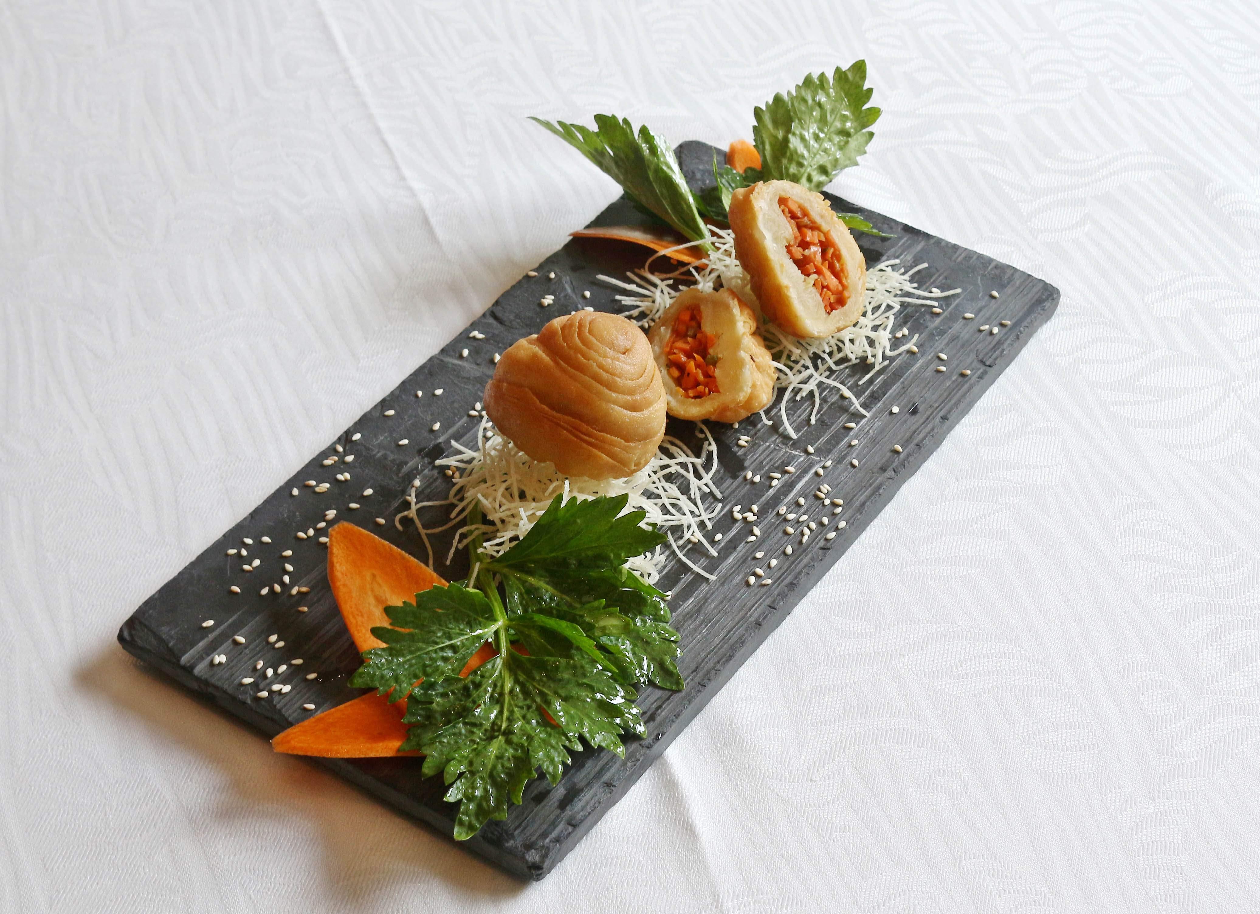 Deep fried carrot