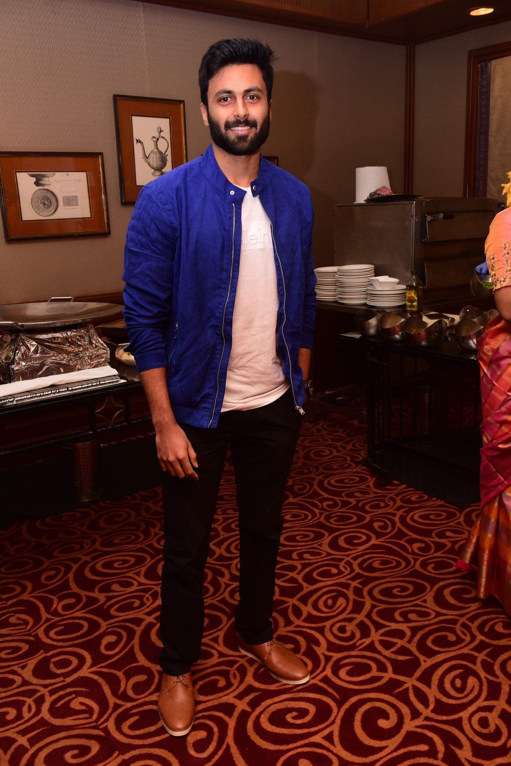 Ashwin at the launch event of Karthik Srinivasan's calendar, Entwined