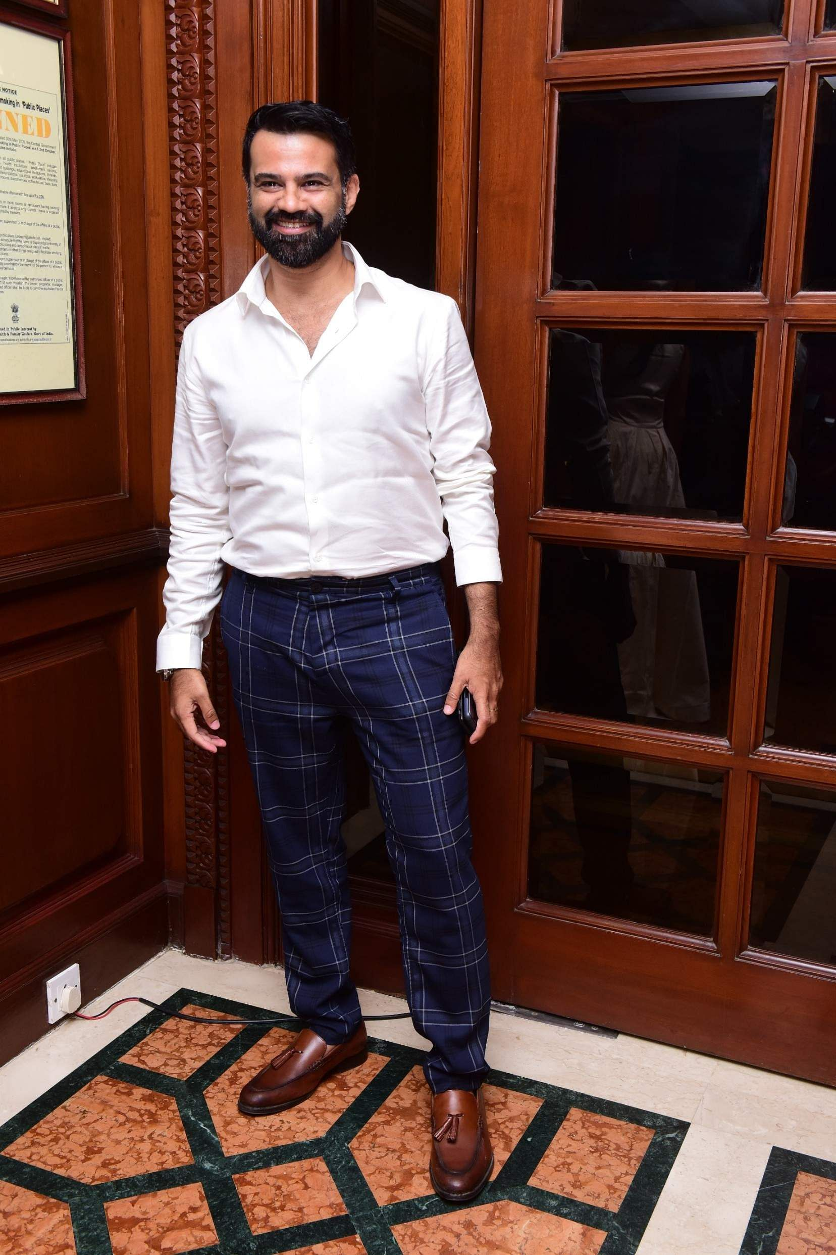 Chaitanya Rao at the Karthik Srinivasan calendar launch event