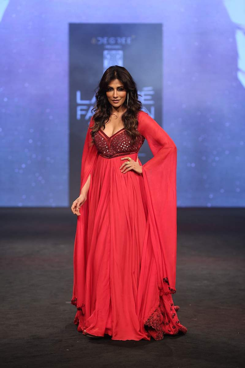 Chitrangada Singh spotted at LFW 2019