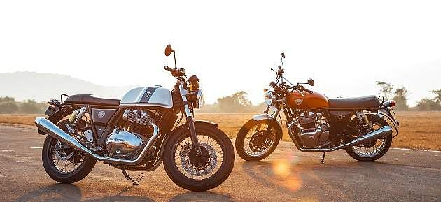 Royal Enfield Interceptor and Continental GT