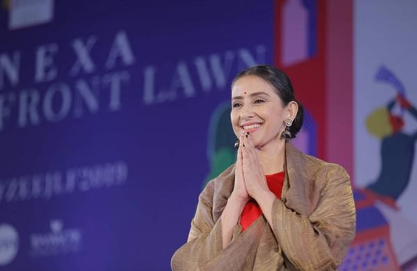 Manisha Koirala at Jaipur Literature Festival 2019