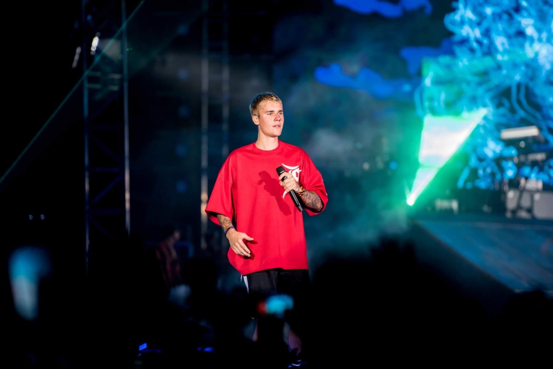 Justin Bieber in Mumbai. (File Photo: IANS)