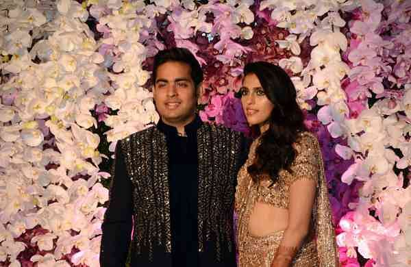 Akash and Shloka Ambani's wedding reception