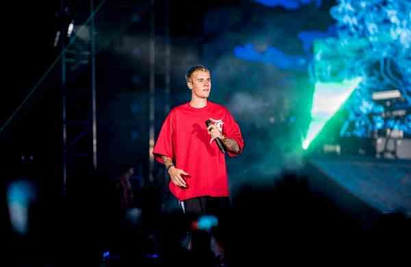 Justin Bieber in Mumbai. (File Photo: IANS)
