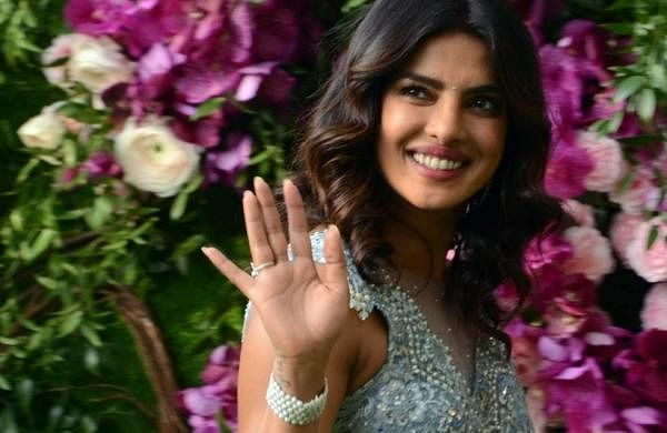Priyanka Chopra at Akash and Shloka's wedding