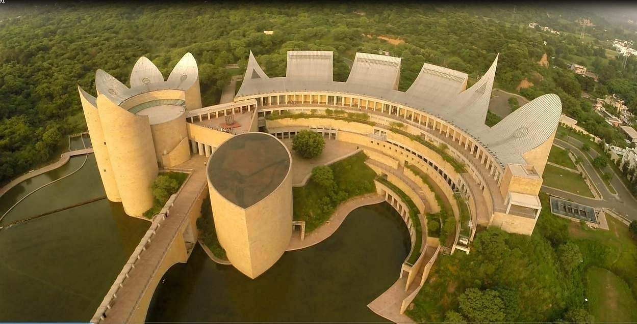 The Virasat-e-Khalsa museum in the Sikh holy town of Anandpur Sahib in Punjab has emerged as the museum with the highest footfall in the country.