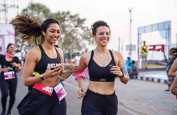 4853c45bf6 Pinkathon s Hyderabad chapter gets women to reclaim the streets