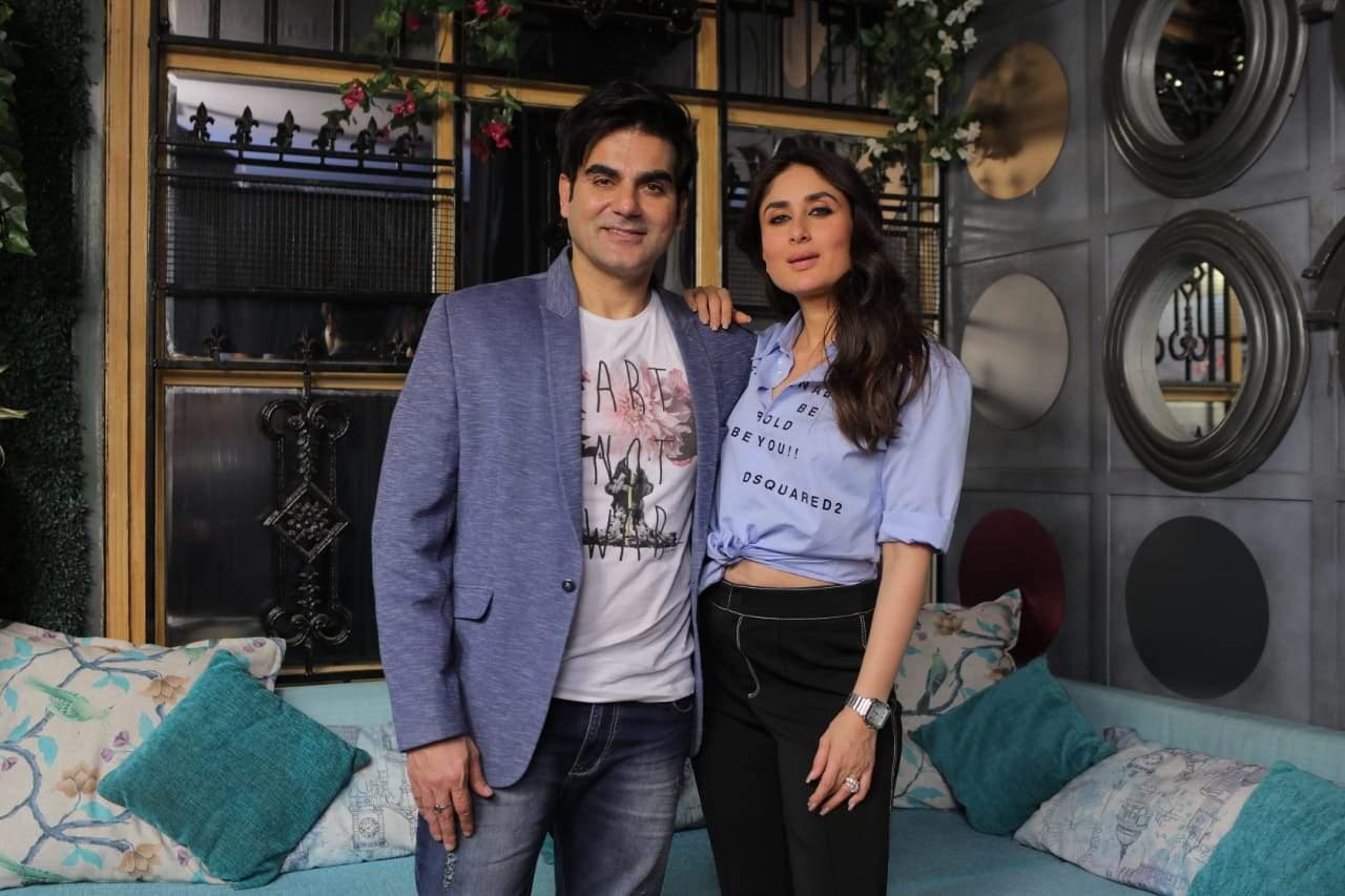 Arbaaz Khan and Kareena Kapoor