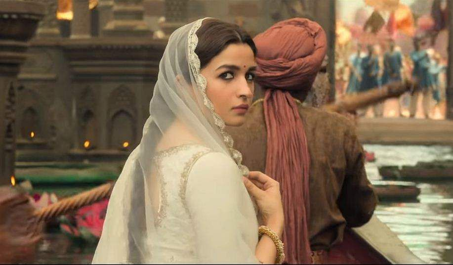 A still from the teaser featuring Alia Bhatt