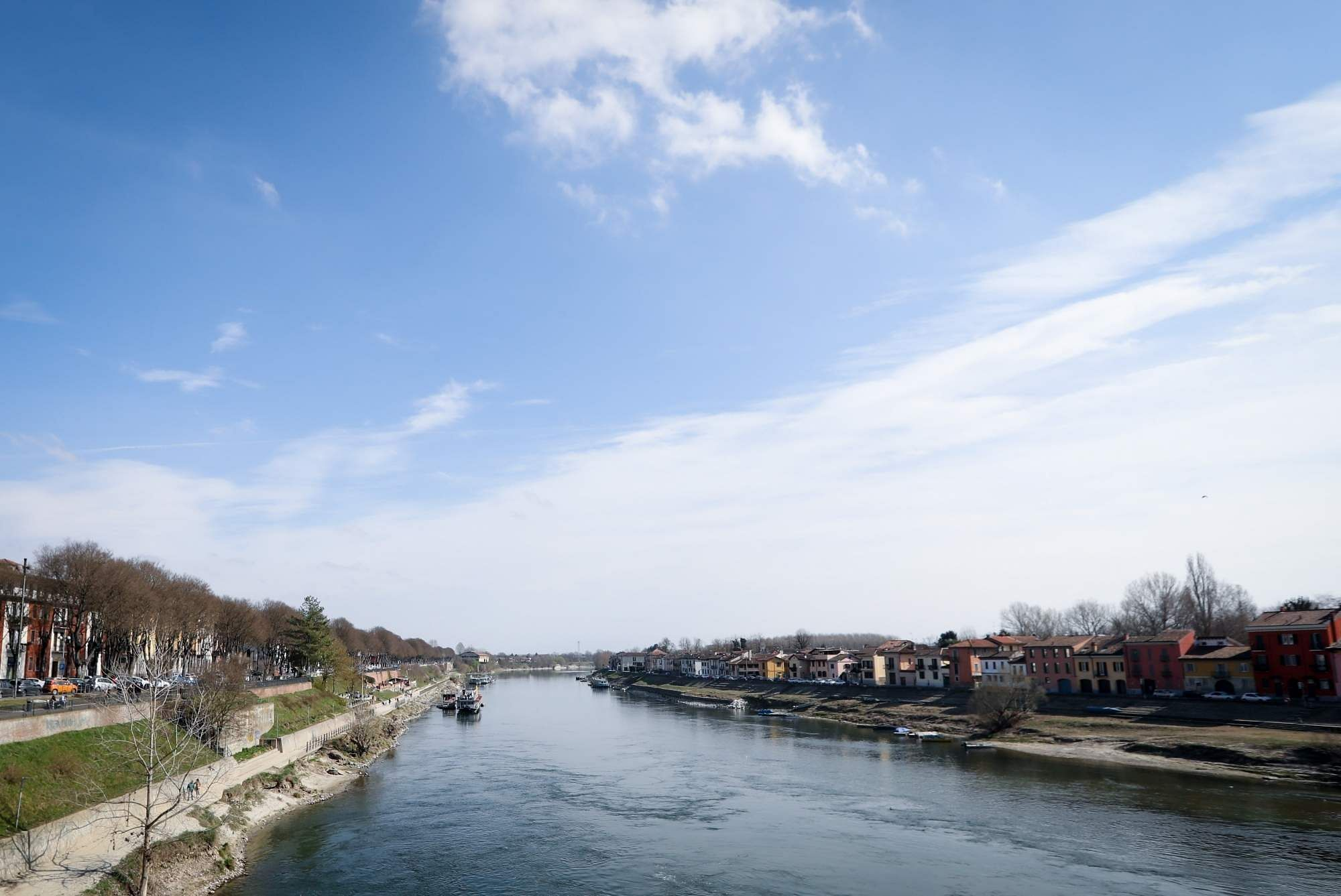 ROME, March 11, 2019 (Xinhua) -- The Ticino River is seen in Pavia, Italy , March 10, 2019. (Xinhua/Cheng Tingting/IANS)