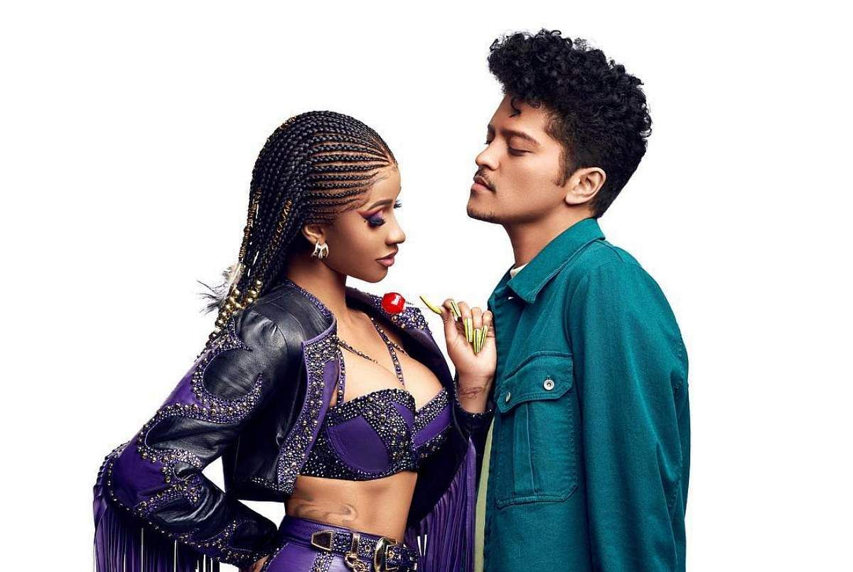 CardiB & BrunoMars from Please Me