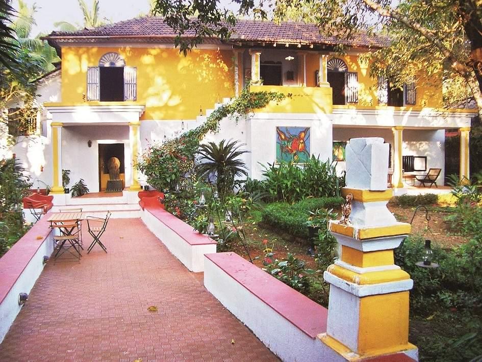 Casa Dona Maria, in the village of Colvale, which is the new Moda Goa Museum and Research Centre. (Photo : Guillemette Feroul/Courtesy: Moda Goa Museum)