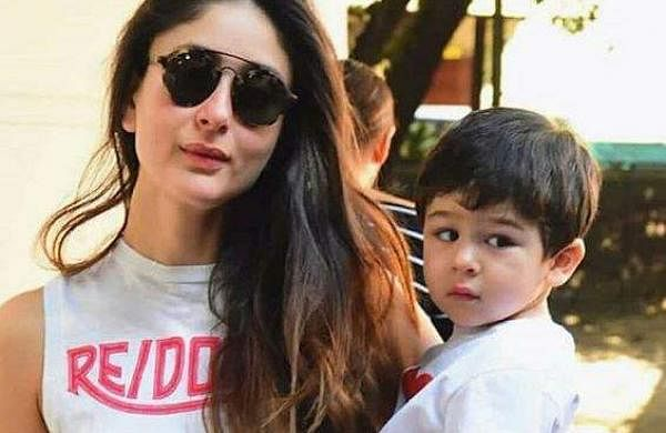 Kareena Kapoor with son Taimur Ali Khan