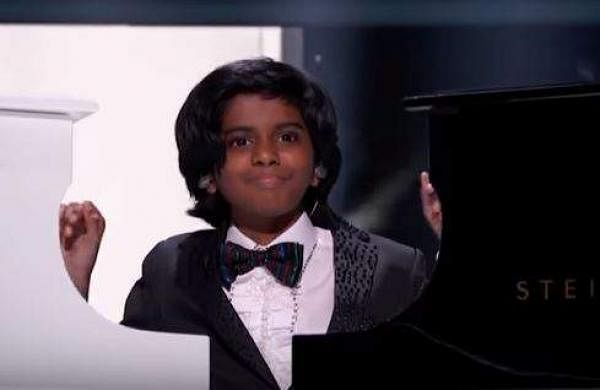 Chennai boy Lydian Nadhaswaram at The World's Best finale