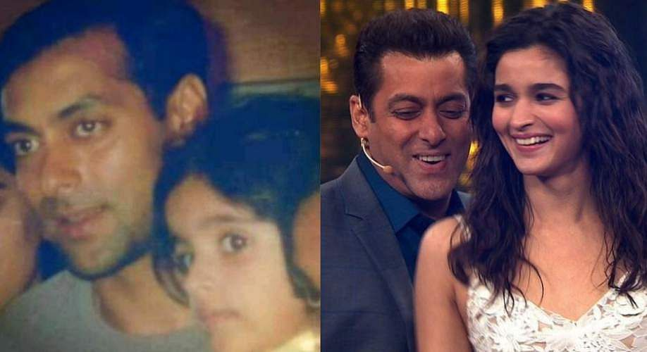 Inshallah: Salman Khan's picture with baby Alia Bhatt goes viral as Sanjay Leela Bhansali announces