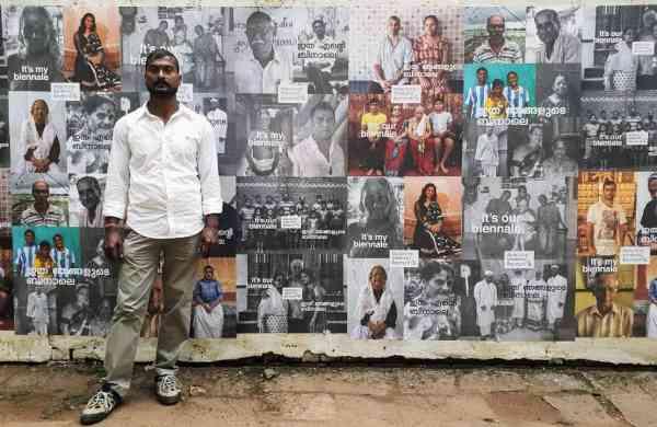 Bapi Das at Kochi Biennale