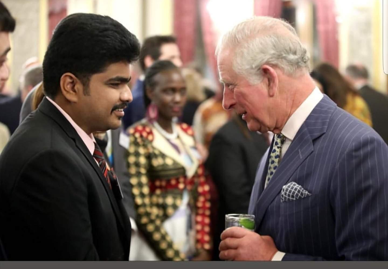 Padmanbhan Gopalan with Prince Charles
