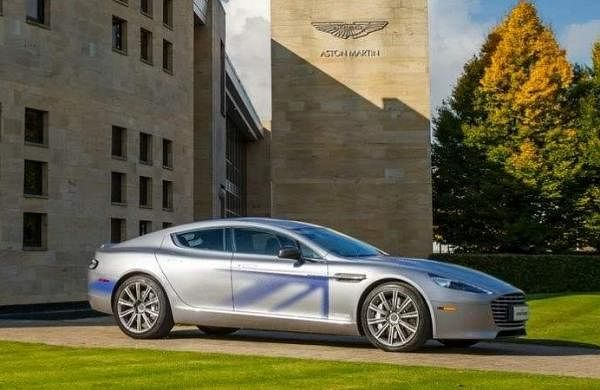 Electric Aston Martin for Bond?