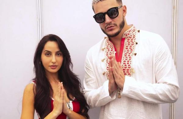 Nora Fatehi with DJ Snake