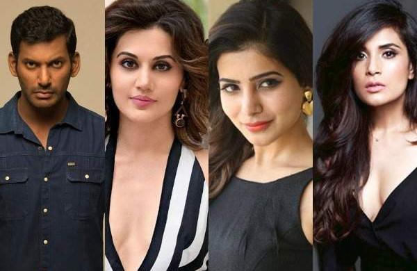 'No stranger to offensive statements': Vishal, Taapsee Pannu, Samantha Akkineni, Richa Chadda slam R(7)