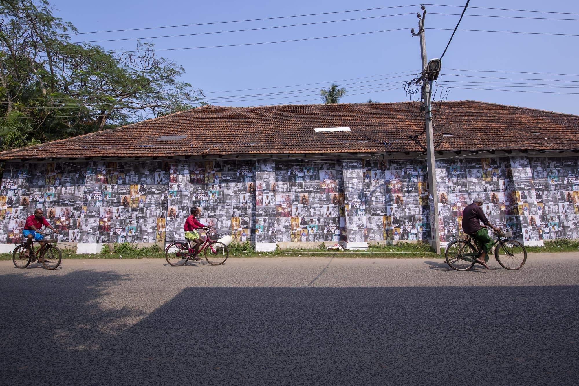 The people's festival: Scenes from Kochi-Muziris Biennale 2018 at Fort Kochi, Kerala. All images courtesy Kochi Biennale Foundation.