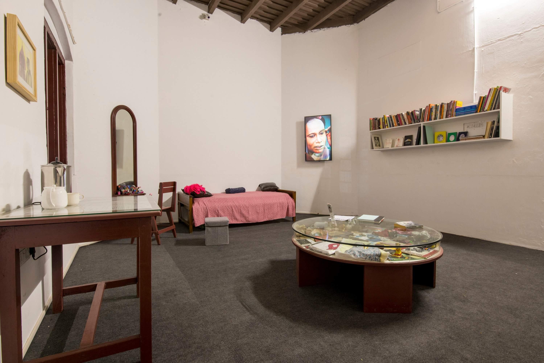Aryakrishnan's 'Sweet Maria Monument, Admin Block, Aspinwall House. All images courtesy Kochi Biennale Foundation.