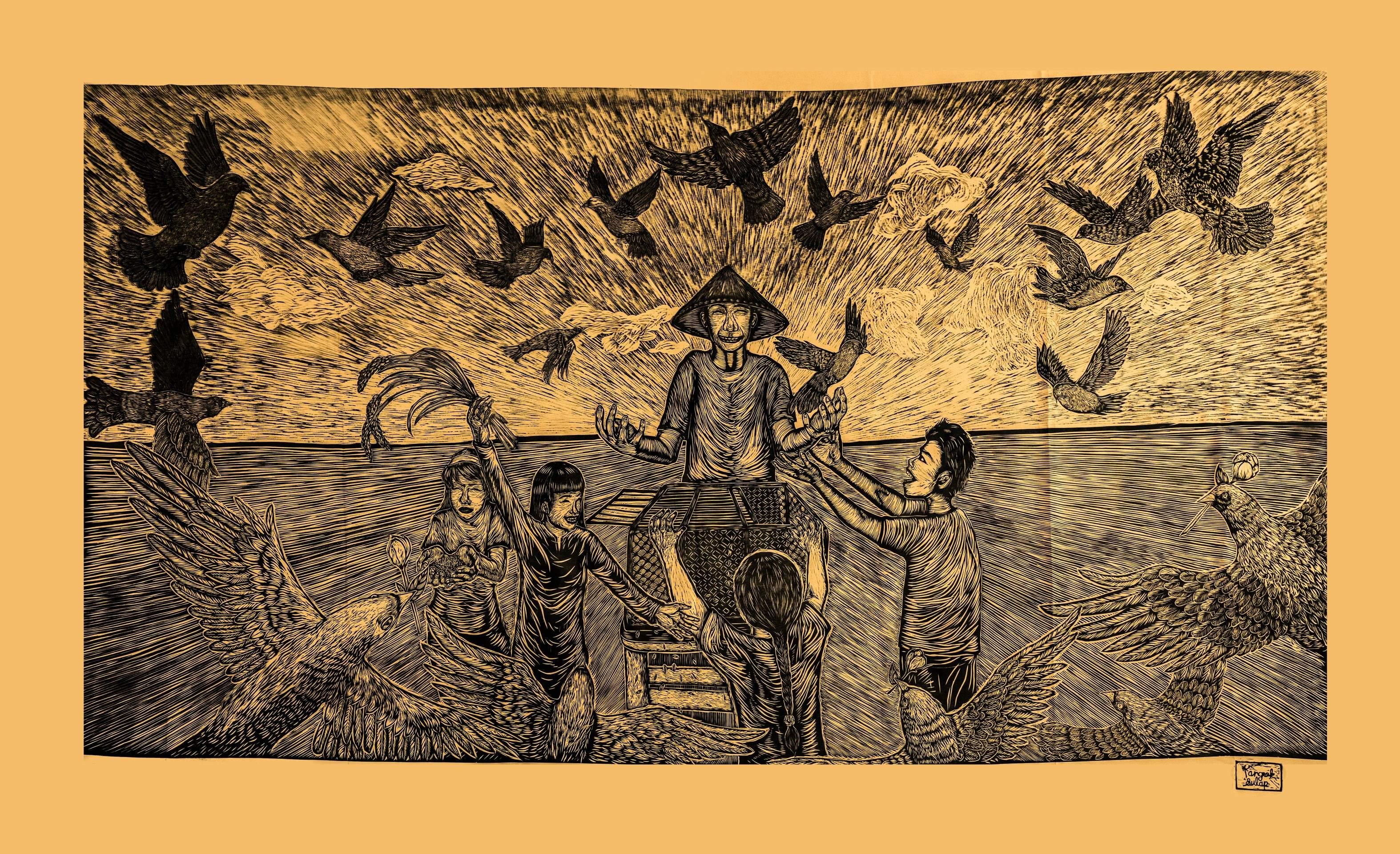 Spotlight on Kochi-Muziris Biennale 2018. All images courtesy Kochi Biennale Foundation.