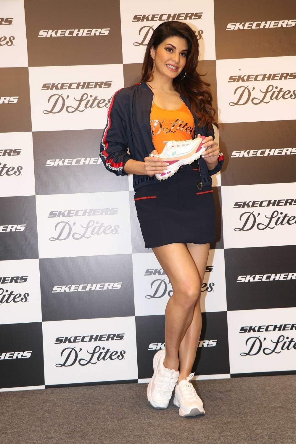 Mumbai: Actress Jacqueline Fernandez at the launch of a shoes collection in Mumbai on Jan 15, 2019. (Photo: IANS)