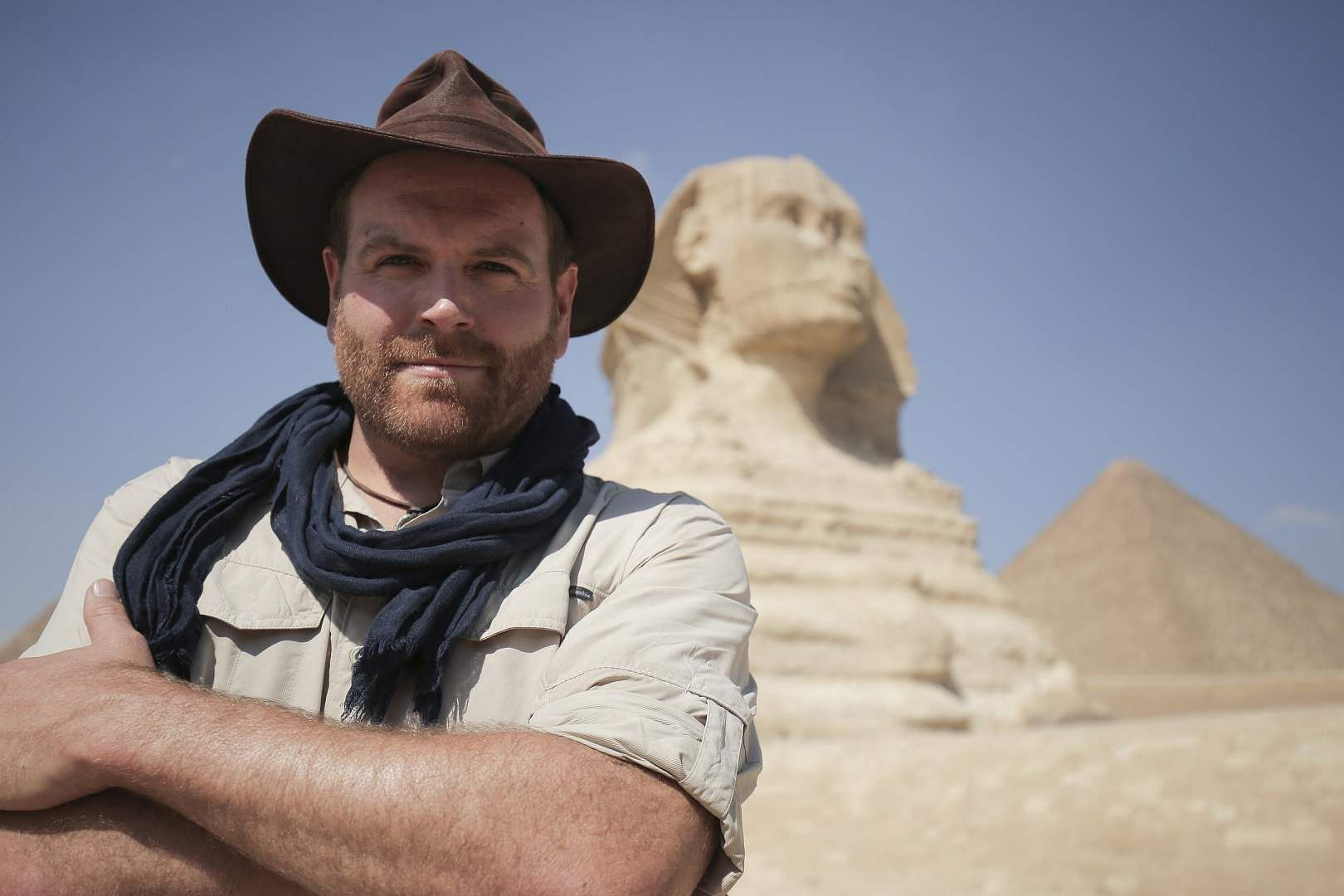 Josh Gates (Photo Source: Discovery)
