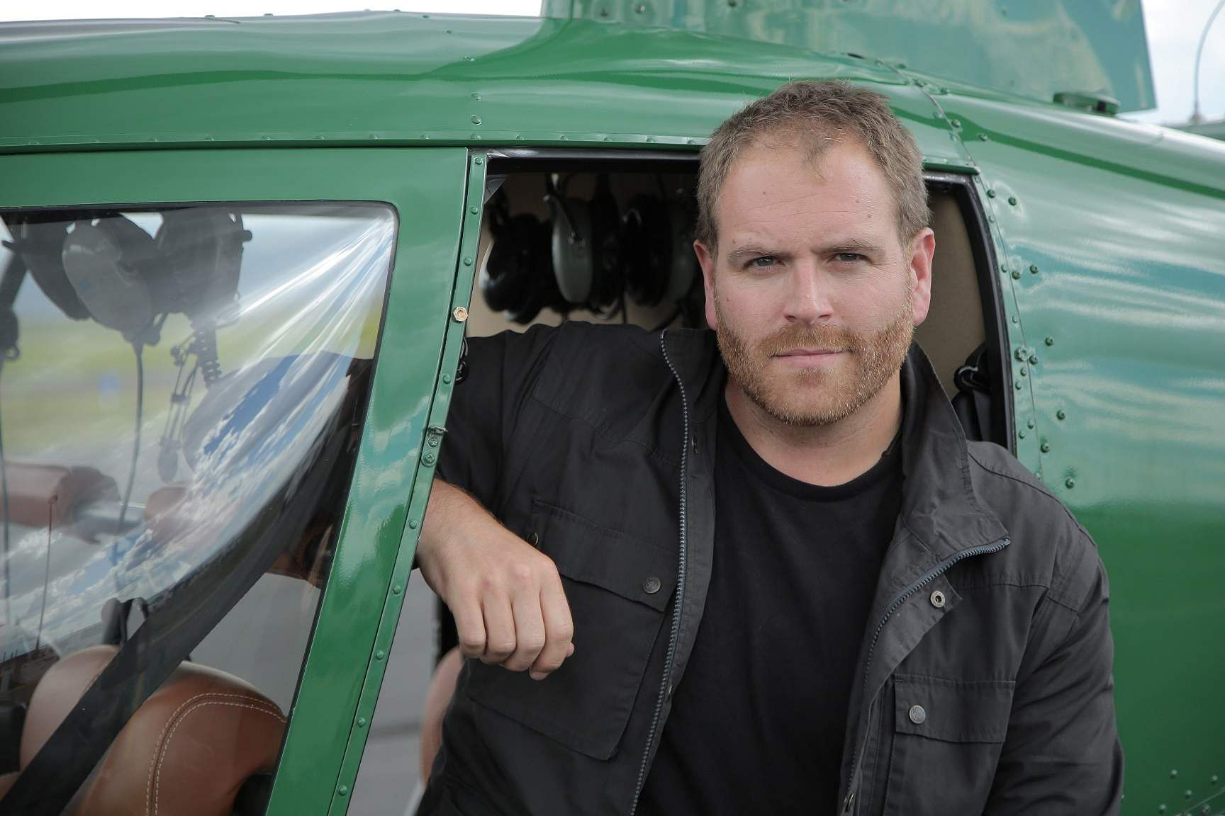 Josh Gates at Egypt for Expedition Unknown: Egypt to film an Egyptian coffin being opened live on Discovery TV (Photo Source: Discovery)