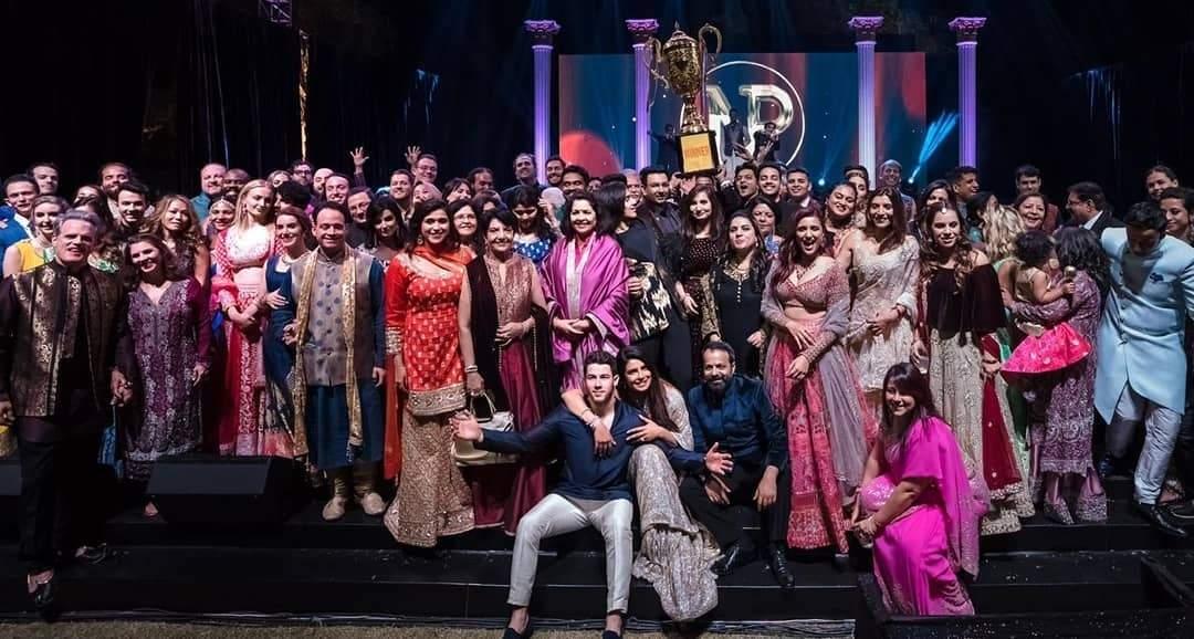 Jodhpur: Actress Priyanka Chopra and American singer Nick Jonas at their wedding in Jodhpur on Dec 2, 2018. Priyanka and Nick exchanged wedding vows in a Christian wedding on Saturday. (Photo: IANS)