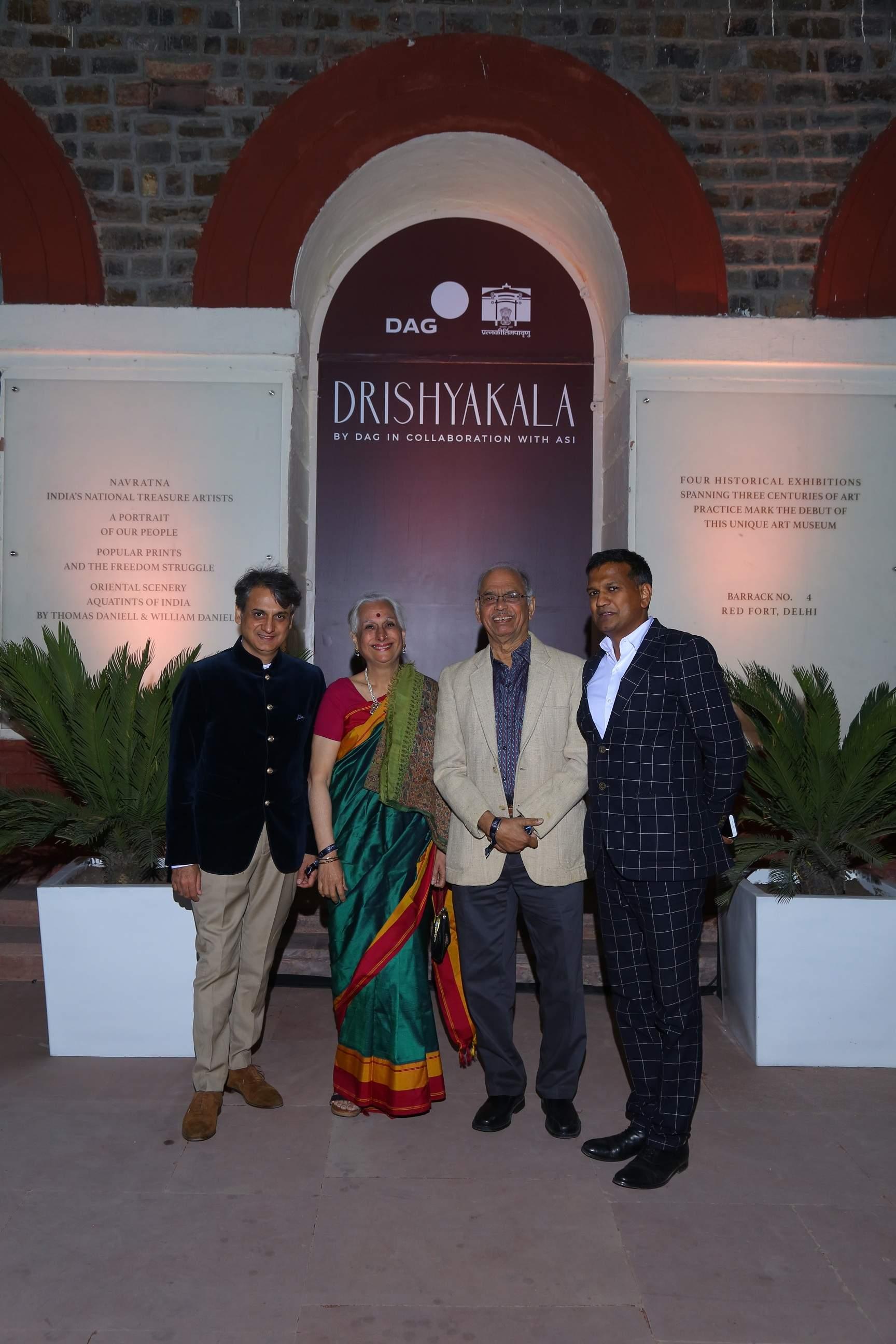 Ashish Anand, CEO _ MD, DAG, Prof. Geetanjali Chanda, Prof. Nayan Chanda, Ashoka University _ Ashok Adiceam, Sr. VP, DAG
