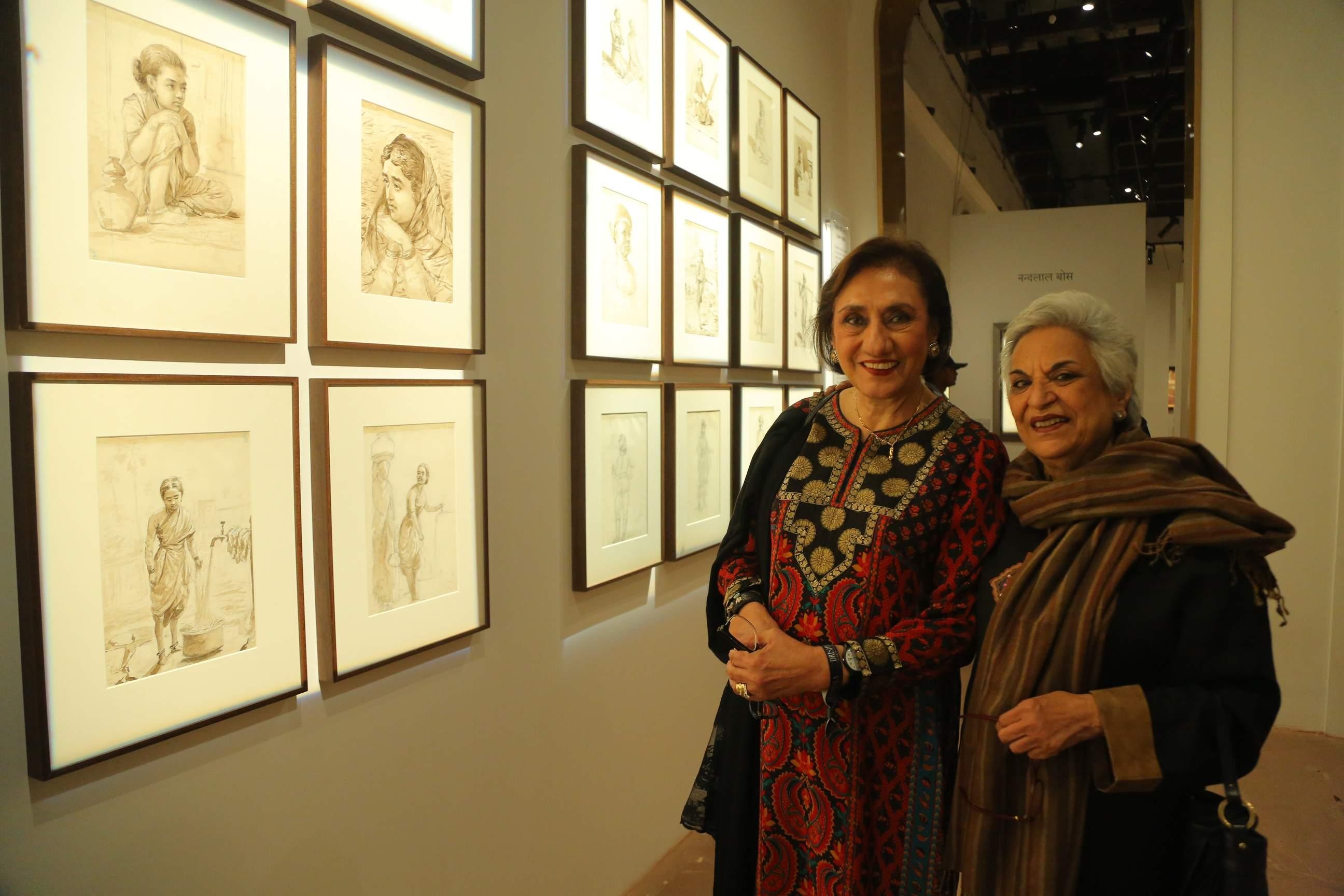 DAG Patrons Anjali Mathrani and Aruna Mehta